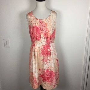 Silky watercolor Floral Sundress